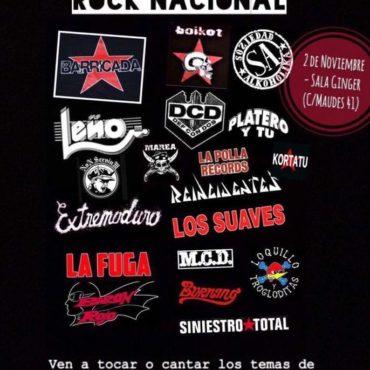 Jam Session Rock Nacional