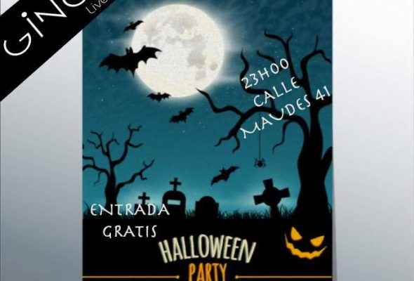 Halloween party en Madrid