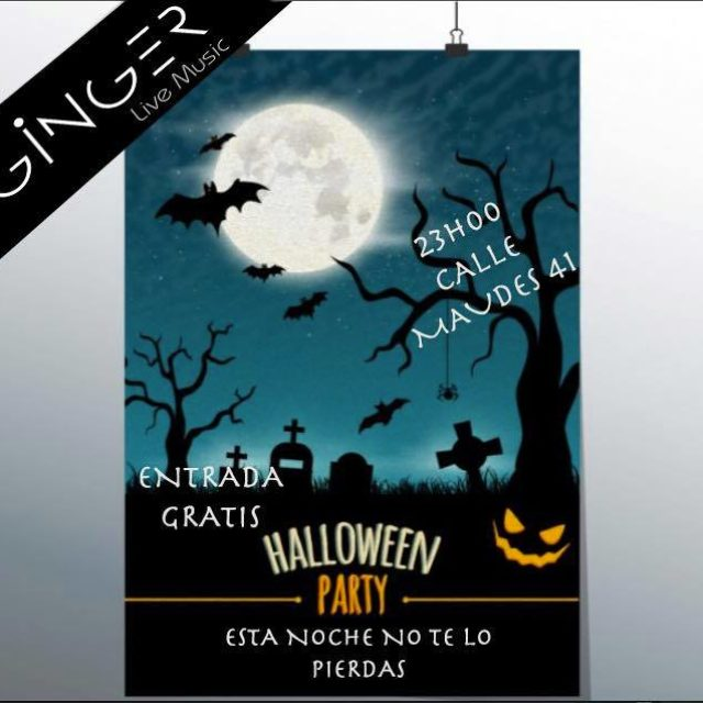 Halloween party en Madrid