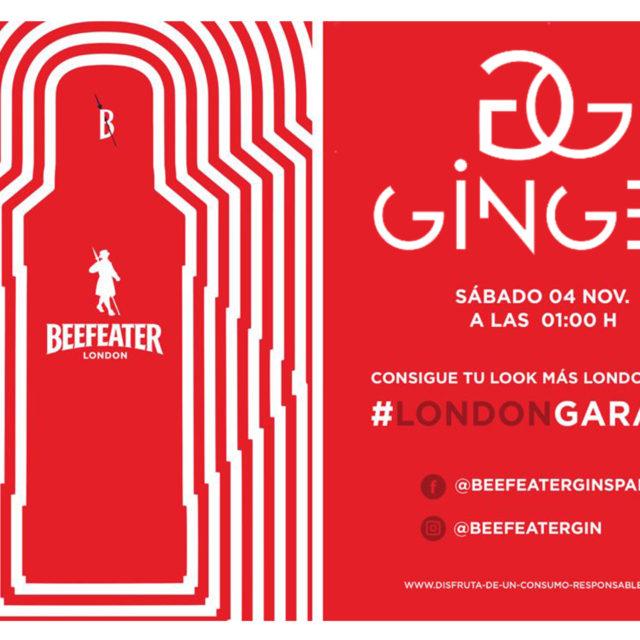 Sábado 4 de Noviembre de 2017 Fiesta Beefeater en Sala Ginger Madrid