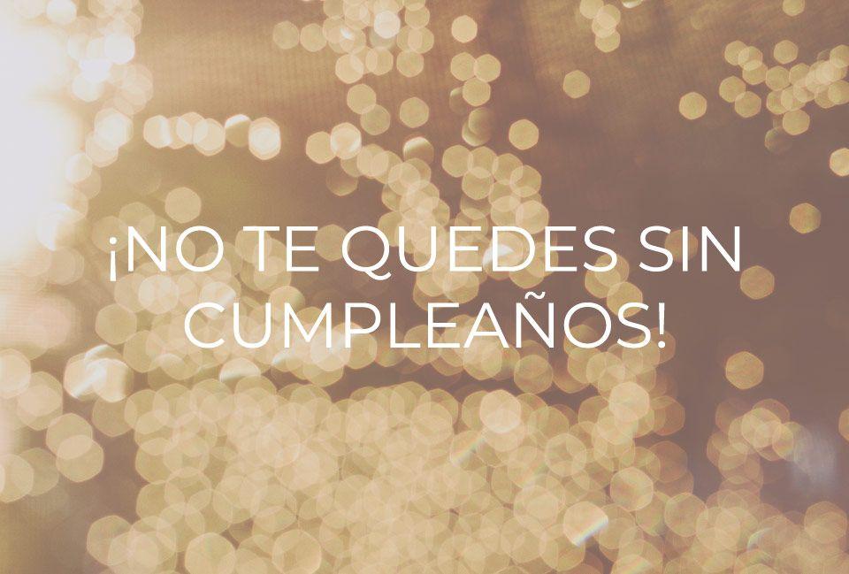 cumpleaños en Madrid capital